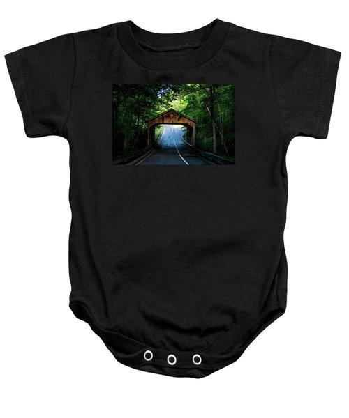 Covered Bridge Baby Onesie