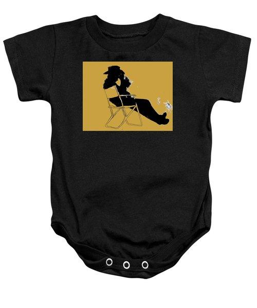 Cowboy Silhouette Baby Onesie