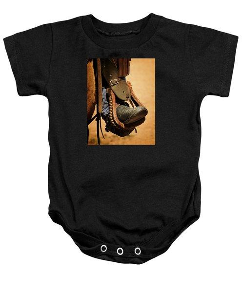 Cowboy Up Baby Onesie
