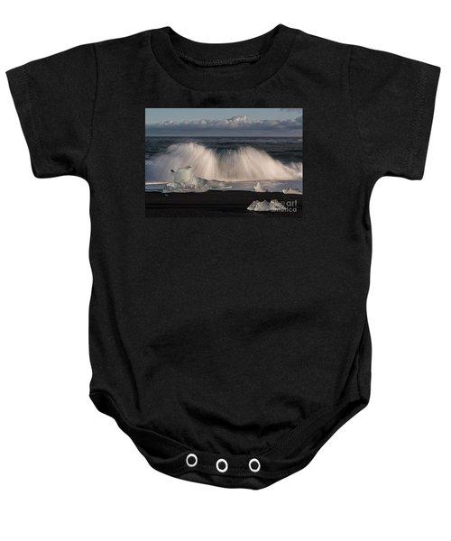 Crashing Waves Baby Onesie