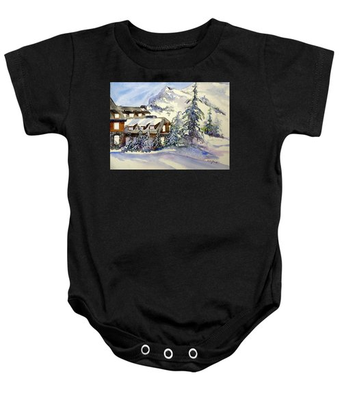 Crater Lake Lodge - Closed For Winter    Baby Onesie