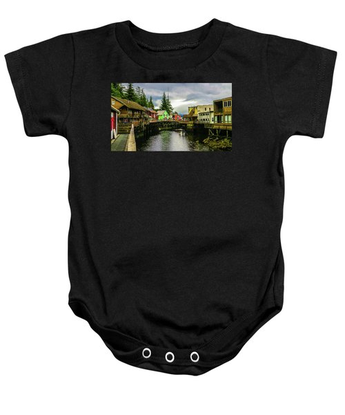 Creek Street 1 Baby Onesie
