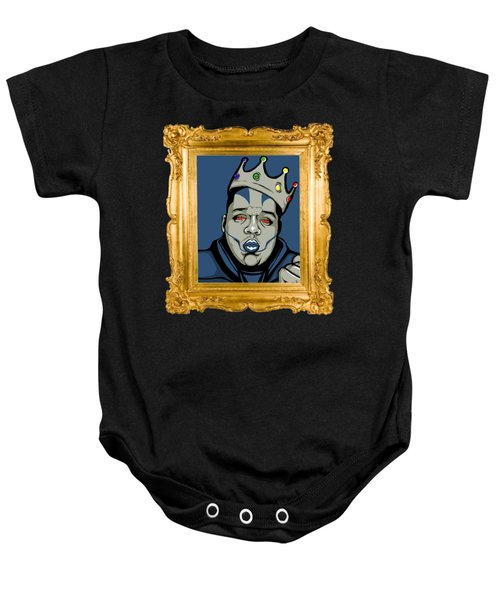 Baby Onesie featuring the digital art Crooklyn's Finest by Cg