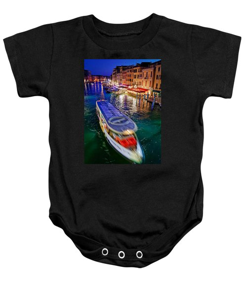 Crossing The Grand Canal Baby Onesie