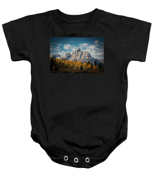 Crown For Tetons Baby Onesie by Edgars Erglis