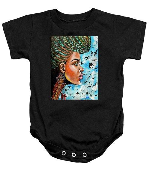 Crowned Royal Baby Onesie