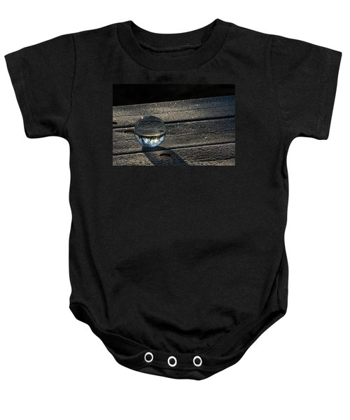 Crystal Frost Baby Onesie