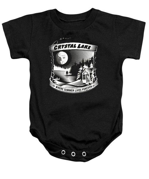 Crystal Lake Baby Onesie
