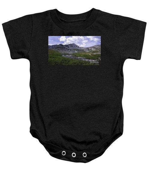 Crystal Peak 13852 Ft Baby Onesie