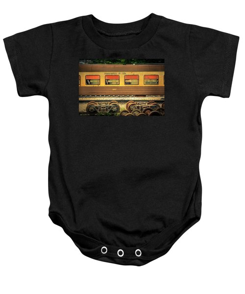 Cuban Train Baby Onesie