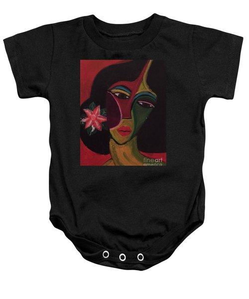 Cubanita Baby Onesie