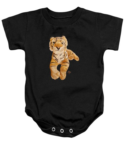 Cuddly Tiger Baby Onesie