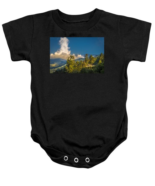 Giant Over The Mountains Baby Onesie
