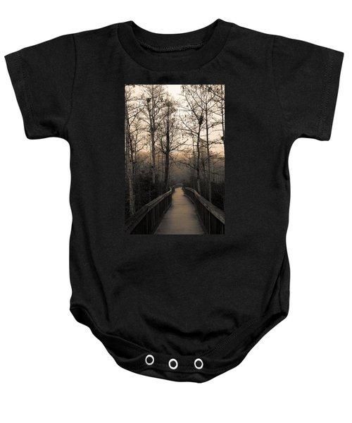 Cypress Boardwalk Baby Onesie