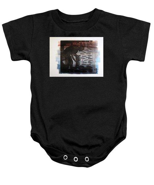 D U Rounds Project, Print 4 Baby Onesie