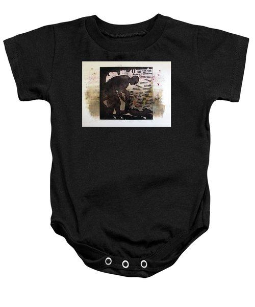 D U Rounds Project, Print 19 Baby Onesie