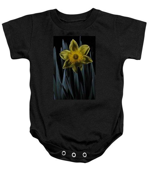 Daffodil By Moonlight Baby Onesie