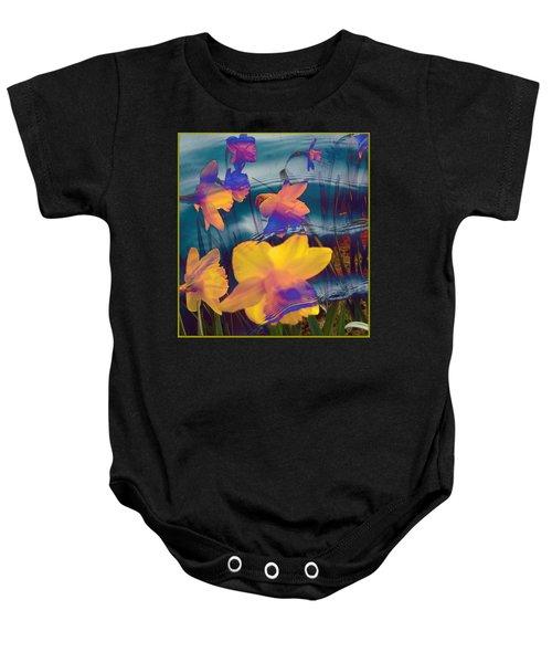 Daffodils #1 Baby Onesie