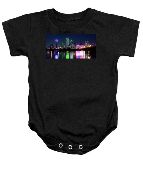 Dallas Colorful Night 52716 Baby Onesie