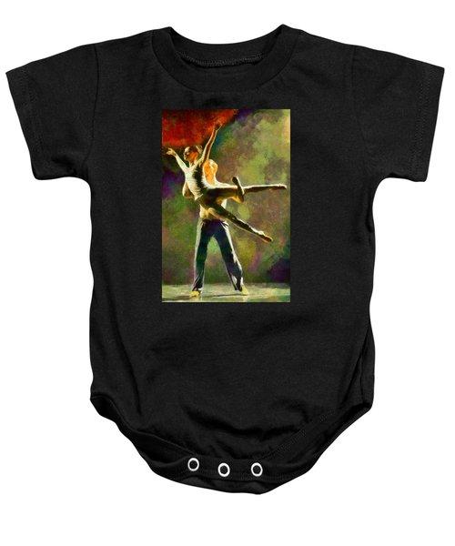 Dance 3 Baby Onesie