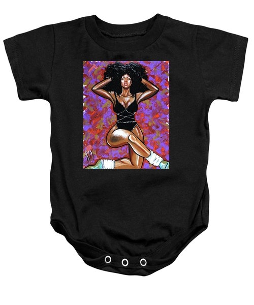 Dance Of Textures  Baby Onesie