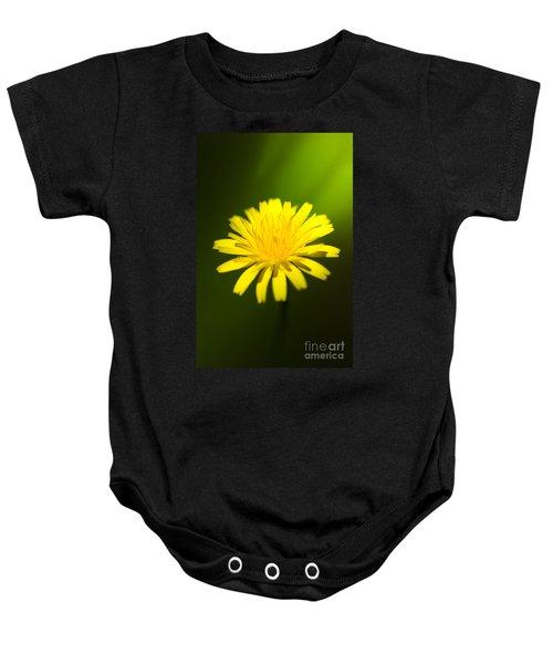 Dandelion Flower Baby Onesie