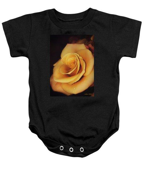 Dark And Golden Baby Onesie