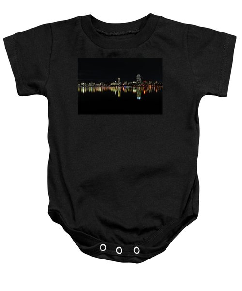 Dark As Night Baby Onesie