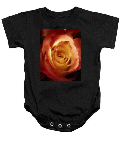 Dark Rose Baby Onesie