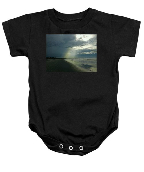 Dark To Enlightened Baby Onesie