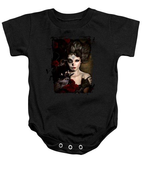 Darkside Sugar Doll Baby Onesie