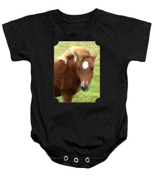Dartmoor Pony Baby Onesie