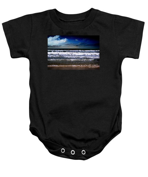Dawn Of A New Day Seascape C2 Baby Onesie