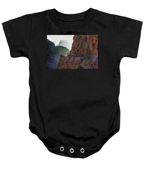 Dawn On Bright Angel Trail Baby Onesie