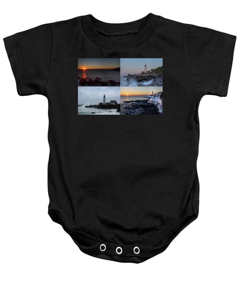 Day Or Night In Any Season Baby Onesie