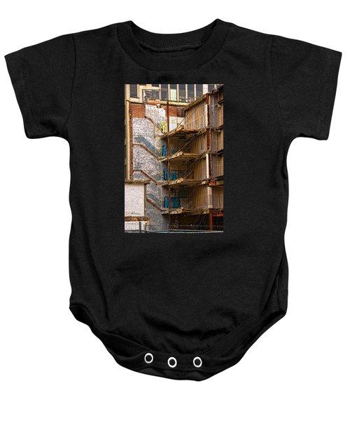 De-construction Baby Onesie