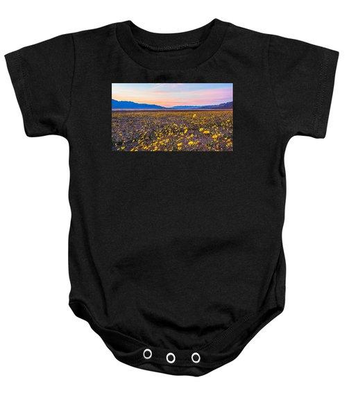 Death Valley Sunset Baby Onesie