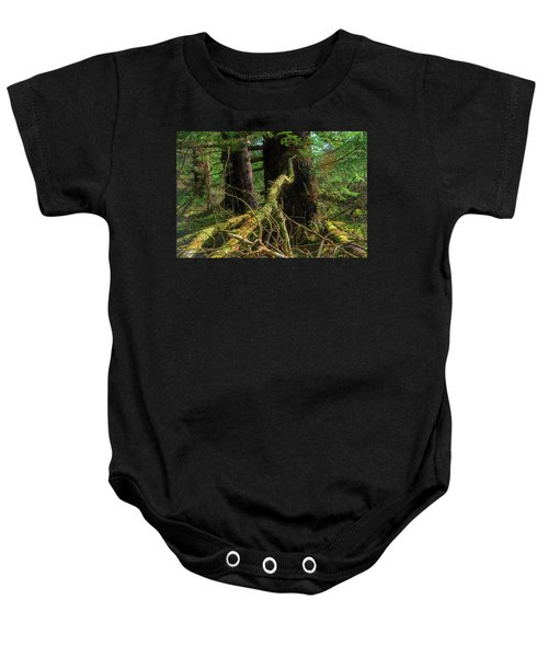 Deep In The Woods Baby Onesie