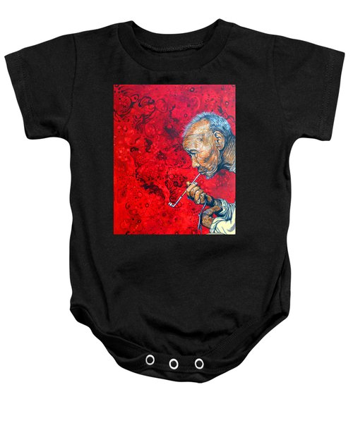 Deep Thoughts Baby Onesie
