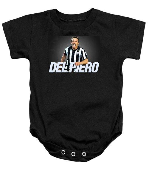 Del Piero Baby Onesie by Semih Yurdabak