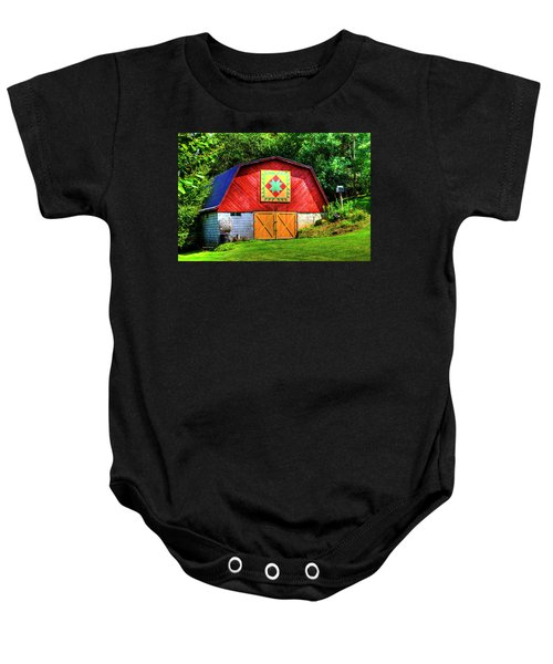 Delectable Mountains Baby Onesie
