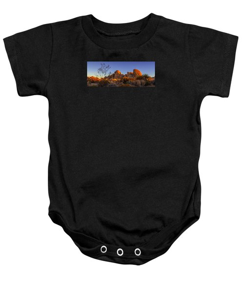 Desert Light Baby Onesie
