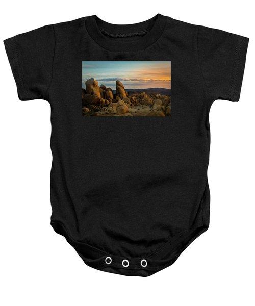 Desert Rocks Baby Onesie