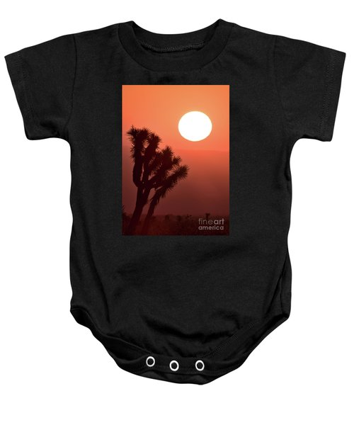 Baby Onesie featuring the photograph Desert Sunrise by Vincent Bonafede