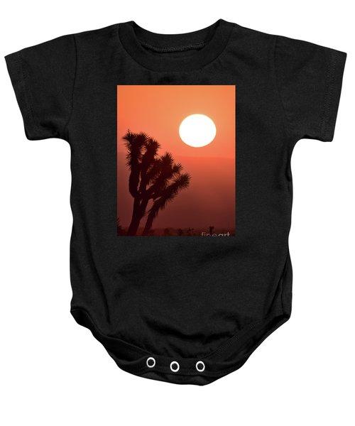 Desert Sunrise Baby Onesie