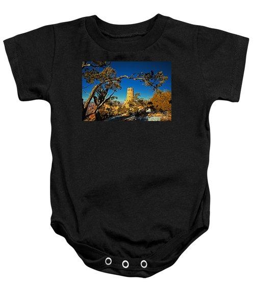 Desert View Watchtower, Grand Canyon National Park, Arizona Baby Onesie