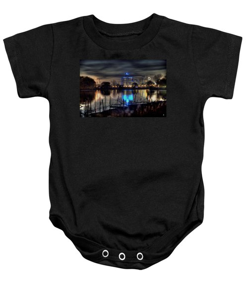 Detroit Reflections Baby Onesie