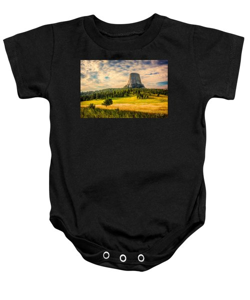 Devil's Tower - The Other Side Baby Onesie