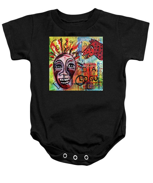Dialogue Between Red Dawg And Wildwoman-self Baby Onesie