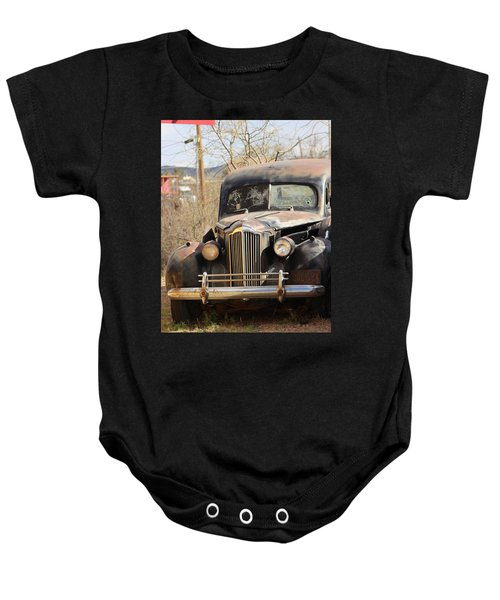 Digger O Balls Funeral Pallor Hearse Baby Onesie